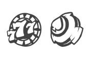 Make a sketch of mascot logo 8 - kwork.com