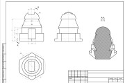I will make drawings in Autodesk AutoCAD 12 - kwork.com