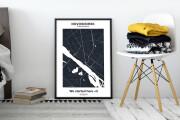 Decorative map of your city 6 - kwork.com