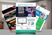 I will design flyers, brochures, and amazon thank you cards 6 - kwork.com