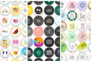 I will create 10 stickers for highlight stories in instagram 8 - kwork.com