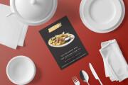 I will design, food menu, restaurant menu, price list 13 - kwork.com