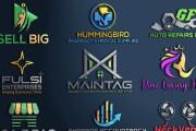 Do professional business logo Design, Modern, Minimalist in 12 hrs 14 - kwork.com