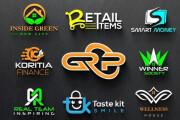 I will do unique, creative and modern business logo design 6 - kwork.com