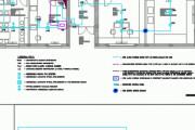 Fire alarm CAD design 5 - kwork.com