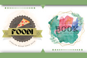 I will create an awesome watercolor vintage logo design 5 - kwork.com
