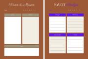 Design creative planners or journal or calendar 13 - kwork.com