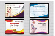 I will design certificate of completion, award, custom diploma degree 5 - kwork.com