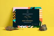 I'll design a professional custom diploma certificate, or degree 5 - kwork.com
