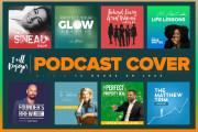 I will design a professional podcast cover art 4 - kwork.com