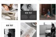 Design of post and stories instagram 11 - kwork.com