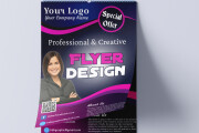 I will design a professional flyer in 6 hour 5 - kwork.com