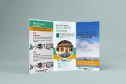 I will design corporate tri-fold or bi-fold brochure for business 11 - kwork.com