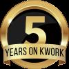 5 years on Kwork