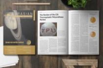 Design magazine page, layout 5 - kwork.com