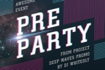 Create a party poster 3 - kwork.com