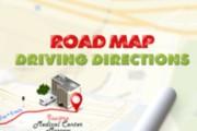 Beautiful road map, driving directions 5 - kwork.com