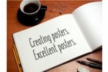 Poster design creation 5 - kwork.com